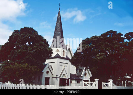 Old St.Paul's Cathedral,Wellington,New Zealand - Stock Photo