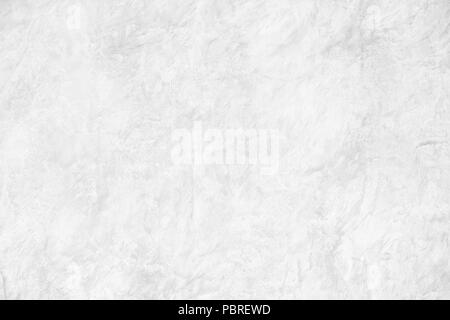 White Cement Wall Background , Closeup Grunge Texture White Paint Concrete Wall - Stock Photo