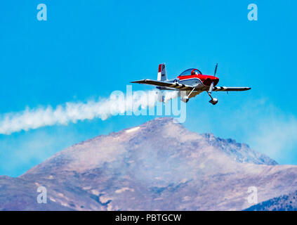 Van's Aircraft RV-8; Rocky Mountain Renegades Formation flying team; Salida Fly-in & Air Show; Salida; Colorado; USA - Stock Photo