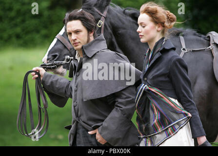 WUTHERING HEIGHTS  2009 ITV TV series  with Tom Hardy and Rosalind Halstead - Stock Photo