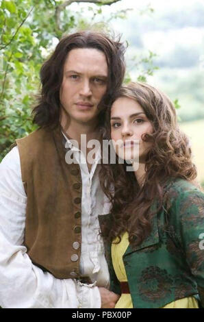 WUTHERING HEIGHTS  2009 ITV TV series  with Tom Hardy and Charlotte Riley - Stock Photo