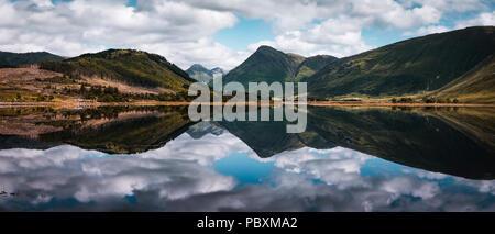 Loch Etive, Argyll and Bute, Scottish Highlands, Scotland, UK, Europe - Stock Photo