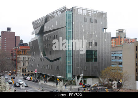 Cooper Union, 41 Cooper Square, New York, NY - Stock Photo
