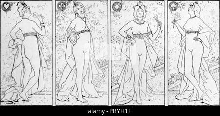 207 Fernand Le Quesne - Les quatre Dames - Stock Photo