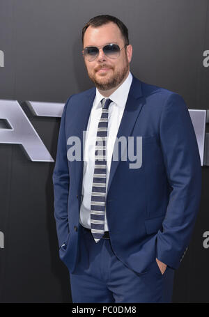 Michael Gladis arriving at the Terminator Genisys Premiere at the Dolby Theatre in Los Angeles. June 28, 2015.Michael Gladis ------------- Red Carpet Event, Vertical, USA, Film Industry, Celebrities,  Photography, Bestof, Arts Culture and Entertainment, Topix Celebrities fashion /  Vertical, Best of, Event in Hollywood Life - California,  Red Carpet and backstage, USA, Film Industry, Celebrities,  movie celebrities, TV celebrities, Music celebrities, Photography, Bestof, Arts Culture and Entertainment,  Topix, Three Quarters, vertical, one person,, from the year , 2015, inquiry tsuni@Gamma-USA - Stock Photo