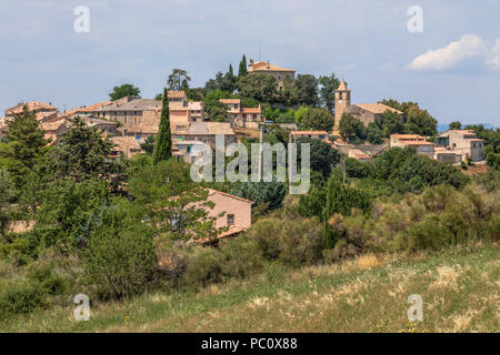 Entrevennes, Alpes-de-Haute-Provence, Provence, France - Stock Photo