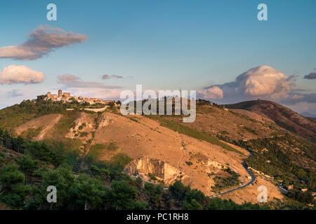 Casertavecchia. Ancient Italian medieval village. Caserta province, Campania, Italy. - Stock Photo
