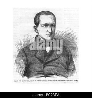391 Manteuffel, Otto Theodor von (1805-1882)5a - Stock Photo