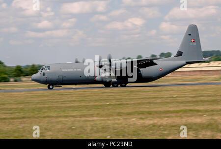 C130J Hercules, Royal Danish Air Force - Stock Photo