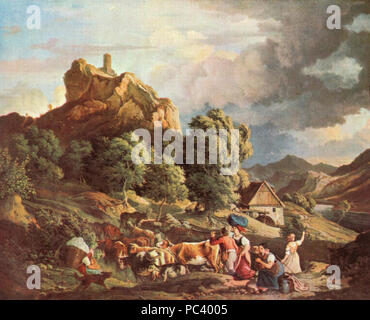 Adrian Ludwig Richter 008. - Stock Photo