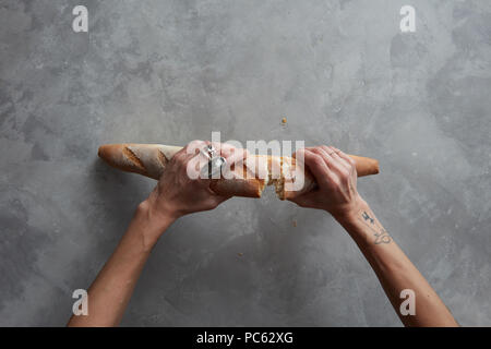 baguette,bread,white bread - Stock Photo