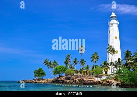 Dondara Light House, Matara, Sri Lanka - Stock Photo