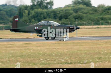 PC-9M Slovenian Air Force - Stock Photo