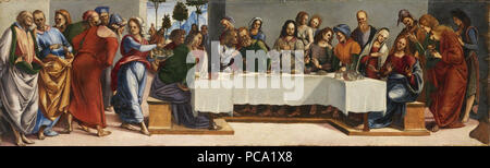 80 Luca Signorelli - Christ in the House of Simon the Pharisee - National Gallery of Ireland (1) - Stock Photo