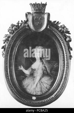 75 Princess Sofia Albertina of Sweden, Abbess in Quedlinburg (Cornelius Höyer) - Nationalmuseum - 24045 - Stock Photo