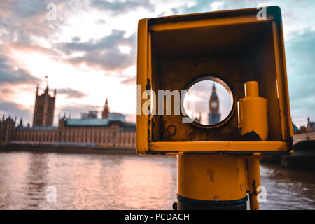 London most turistic spots in the city centre - Stock Photo