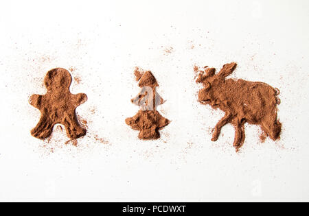 christmas,hot chocolate - Stock Photo