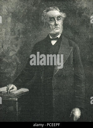 Anthony Ashley-Cooper, 7th Earl of Shaftesbury - Stock Photo