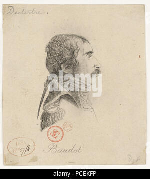 76 Baudot Marc Antoine 1765-1837) - Stock Photo