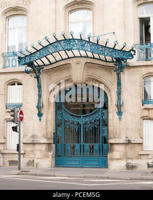 The  chambre de commerce et d'industrie de Meurthe et Moselle building, Nancy, France, Europe - Stock Photo