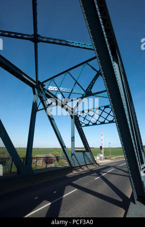 Boothferry Bridge Howden Near GooleHull April 2014 - Stock Photo