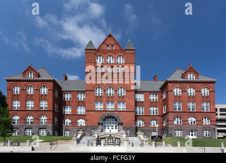 MADISON, WI/USA - JUNE 26, 2014: Science Hall on the campus of the University of Wisconsin-Madison. - Stock Photo
