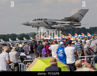 RAF Tornado GR4, Final appearance at RIAT in 2018 - Stock Photo