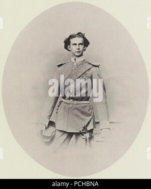 Albert, Joseph - König Ludwig II. in bayerischer Generalsuniform - Stock Photo