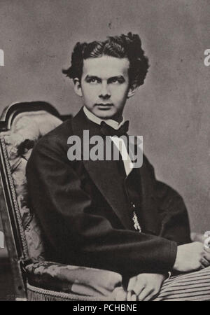 Albert, Joseph - König Ludwig II. - Stock Photo