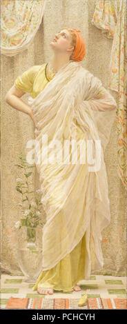 Albert Joseph Moore - Canaries - - Stock Photo