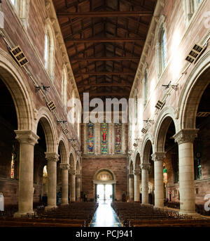 Interior of St Annes Cathedral - Stock Photo