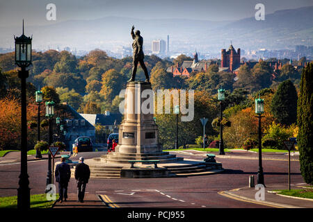 Stormont Parliament and grounds, Belfast - Stock Photo