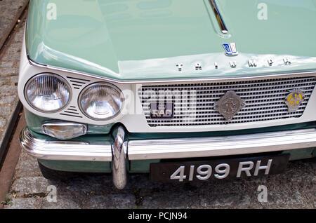 Triumph Vitesse British Classic car UK - Stock Photo