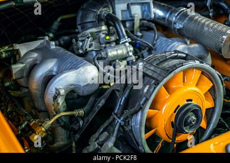 old car engine- - Stock Photo