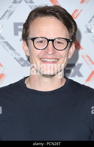Beverly Hills, CA, USA. 3rd Aug, 2018. 03 August 2018 - Beverly Hills, California - Damon Herriman. FX 2018 TCA Summer Press Tour held at the Beverly Hilton Hotel. Photo Credit: Birdie Thompson/AdMedia Credit: Birdie Thompson/AdMedia/ZUMA Wire/Alamy Live News - Stock Photo