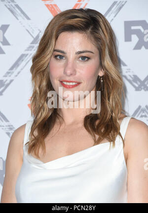 Beverly Hills, CA, USA. 3rd Aug, 2018. 03 August 2018 - Beverly Hills, California - Brooke Satchwell. FX 2018 TCA Summer Press Tour held at the Beverly Hilton Hotel. Photo Credit: Birdie Thompson/AdMedia Credit: Birdie Thompson/AdMedia/ZUMA Wire/Alamy Live News - Stock Photo