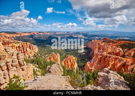 Bryce Canyon National Park, Utah, USA. - Stock Photo