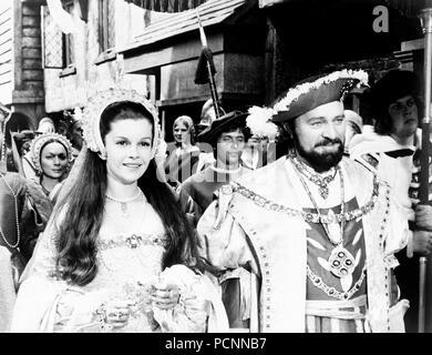 genevieve bujold, richard burton, anne of the thousand days, 1969 - Stock Photo