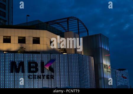 MBK center shopping mall in Bangkok, Thailand - Stock Photo