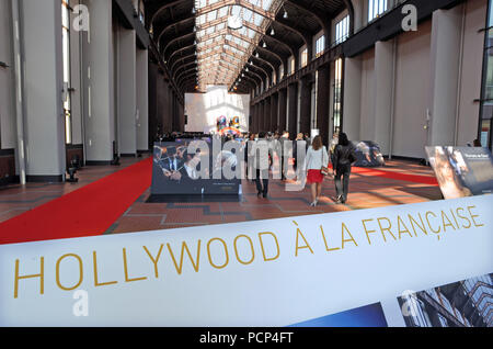 September 21, 2012 - Saint-Denis, France: Opening of the 'cinema city' (Cite du Cinema) on the edge of Paris. The 170-million-euros project is the largest film studio facility ever built in France, which earned it the nickname 'Hollywood on Seine'. The former art deco power station compound houses nine state-of-the-art film sets, 20,000sq metres of office, and several carpentry, model-making, and costume workshops. L'interieur de la Cite du Cinema ˆ Saint-Denis lors de son inauguration. *** FRANCE OUT / NO SALES TO FRENCH MEDIA *** - Stock Photo