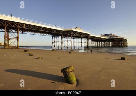 Cromer pier. Norfolk , UK, - Stock Photo