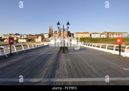 Cromer pier, Norfolk , UK, - Stock Photo