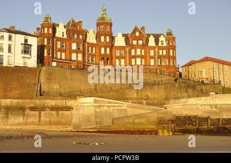 The Hotel de Paris on Cromer seafront, Norfolk, England UK Stock Photo