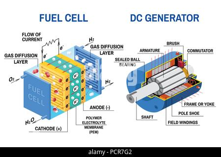 Hydrogen Fuel Cell A Fuel Cell Is A Device That Converts The Stock