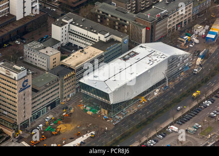 DFB Football Museum Dortmund, Football Museum at Dortmund Central Station, Dortmund, Ruhr area, North Rhine-Westphalia, Germany - Stock Photo