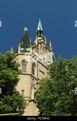 Erfurt Cathedral. Erfurter Dom. - Stock Photo