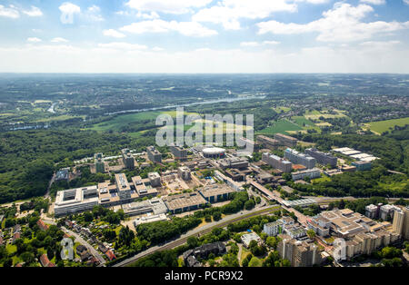 Campus Ruhr University Audimax renovations in the eastern area, Bochum, Ruhr area, North Rhine-Westphalia, Germany - Stock Photo