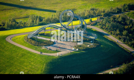 Tiger & Turtle - Magic Mountain 'landmark on a dump in Duisburg-Huckingen, Duisburg, Ruhr area, North Rhine-Westphalia, Germany Stock Photo