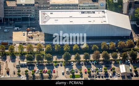 Football Museum of the DFB at Königswall in Dortmund at Dortmund central station, Dortmund, Ruhr, North Rhine-Westphalia, Germany - Stock Photo
