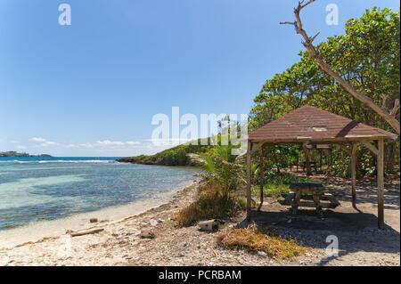 Ilet du Gosier - Gosier island - Le Gosier - Guadeloupe Caribbean island - Stock Photo